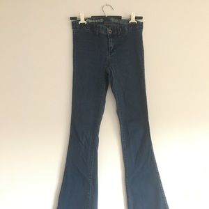 Madewell rocket flare jeans
